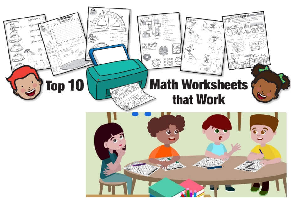 10 Math Worksheets That Work for Teachers (Free Printables)