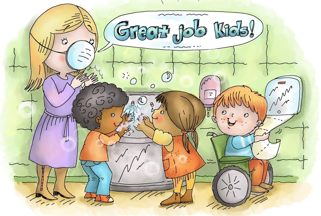 Stop Germs in the Classroom with 7 Free Bulletin Board Posters
