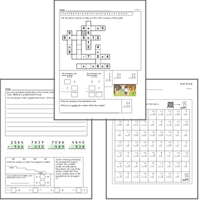 Free L.2.2.C Practice Workbook<BR>Multiple pages of practice for L.2.2.C skills.<BR>Includes second grade language arts, math, and puzzles.