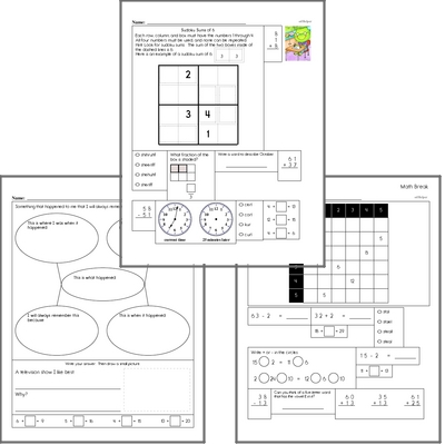Free L.2.2.D Practice Workbook<BR>Multiple pages of practice for L.2.2.D skills.<BR>Includes second grade language arts, math, and puzzles.