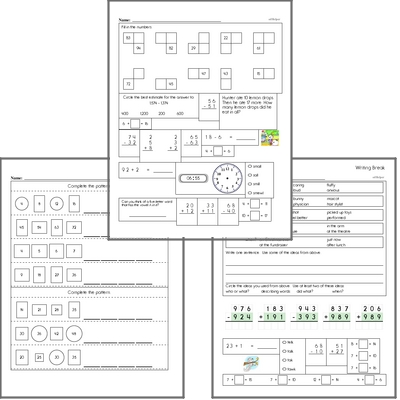 Free L.2.4.D Practice Workbook<BR>Multiple pages of practice for L.2.4.D skills.<BR>Includes second grade language arts, math, and puzzles.