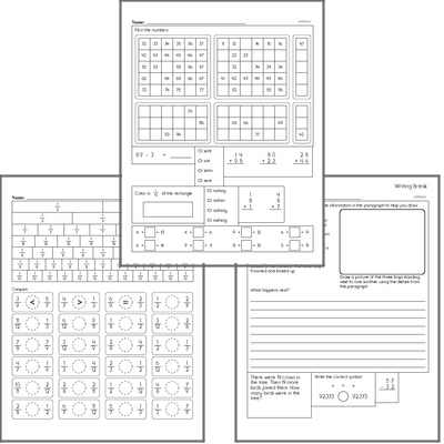 Free L.3.4.D Practice Workbook<BR>Multiple pages of practice for L.3.4.D skills.<BR>Includes third grade language arts, math, and puzzles.