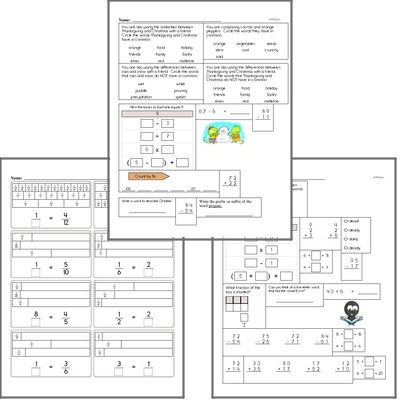 Free L 4 6 Worksheets and Practice for Language Arts Common