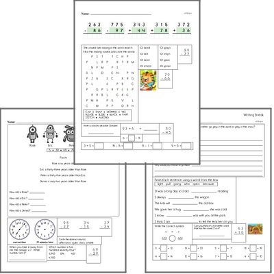 Free L.5.4 Practice Workbook<BR>Multiple pages of practice for L.5.4 skills.<BR>Includes fifth grade language arts, math, and puzzles.