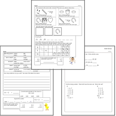 Free L.5.5 Practice Workbook<BR>Multiple pages of practice for L.5.5 skills.<BR>Includes fifth grade language arts, math, and puzzles.