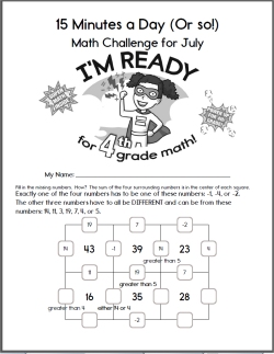 Free Summer Math Workbooks