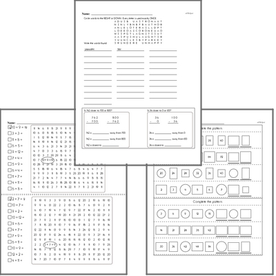 February Fun Packets
