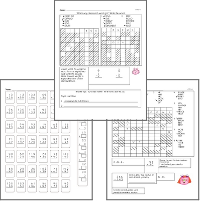 November Fun Packets