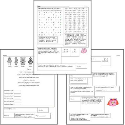 December Fun Packets