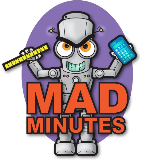 Fifth Grade Mad Minute Timed Math Drill Worksheets