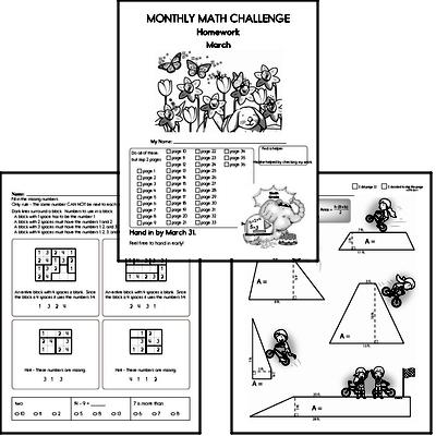 Free Sixth Grade Math Worksheets | edHelper.com