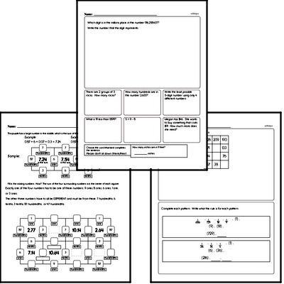 5th grade Math Minutes