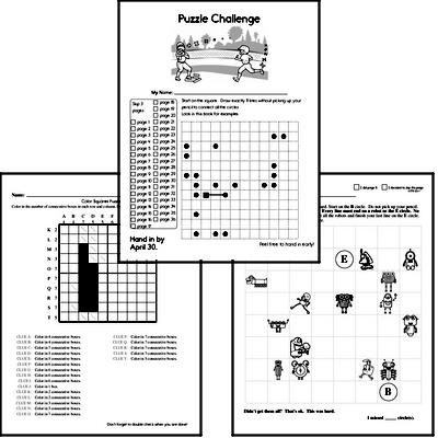 Sixth Grade Puzzles for Kids