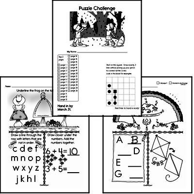 Gifted Kindergarten Students