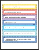 opinion sentences examples