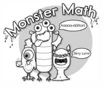 Monster Math Worksheets