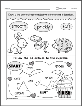 Adjective Worksheets | edHelper.com