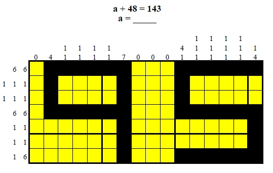 Algebra Color Puzzles