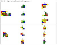 Complete the Shape Puzzles