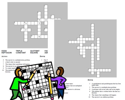 Crossword Puzzle Generator Edhelper Com