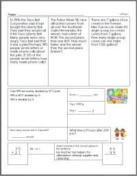 free fifth grade worksheets. Black Bedroom Furniture Sets. Home Design Ideas