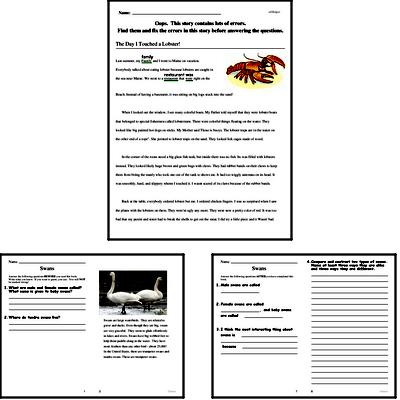 Free Fourth Grade Reading Comprehension PDF Books | edHelper com