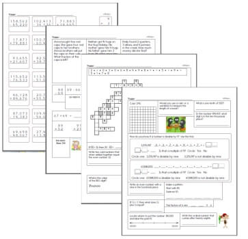 free math worksheets  edhelpercom