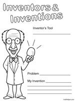 inventors and inventions theme unit