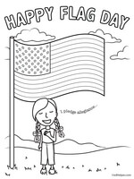 image relating to Flag Day Printable Activities called Flag Working day Topic Machine - Printables and Worksheets