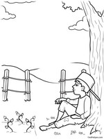 photograph regarding Johnny Appleseed Printable Story identified as Johnny Appleseed Routines, Worksheets, Printables, and