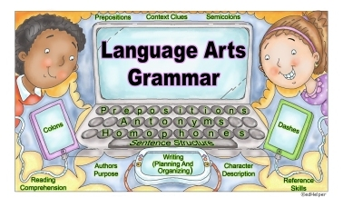 Mixed Review of English Language Arts, Grammar, Spelling, and Writing Workbook