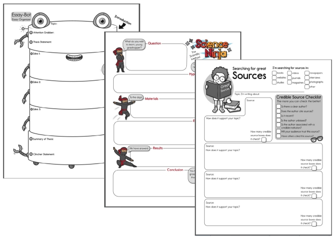 Free Graphic Organizers Worksheets Edhelper