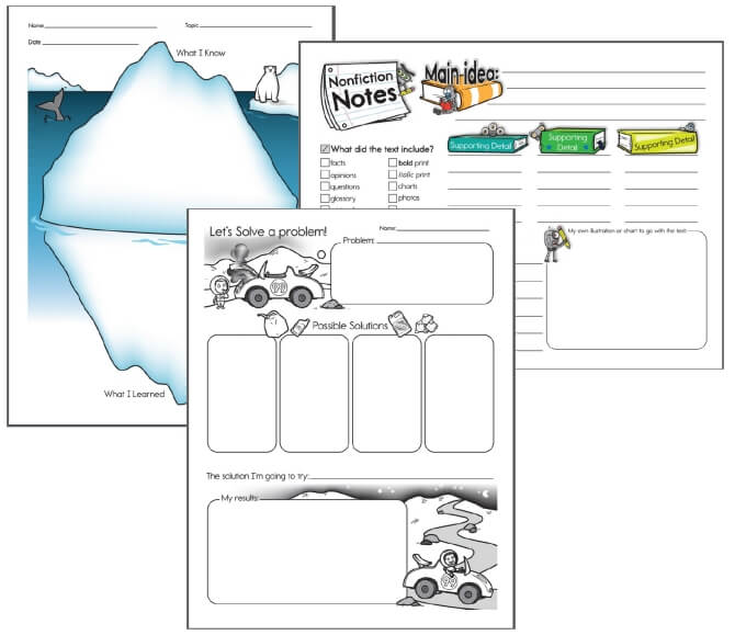 Examples of Graphic Organizers for Teachers