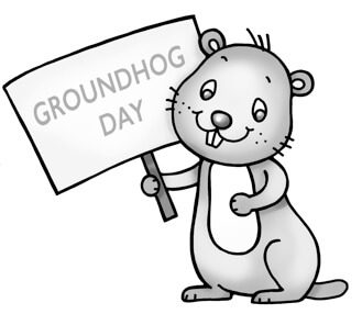 image about Ground Hog Day Printable named Totally free Groundhog Working day Worksheets