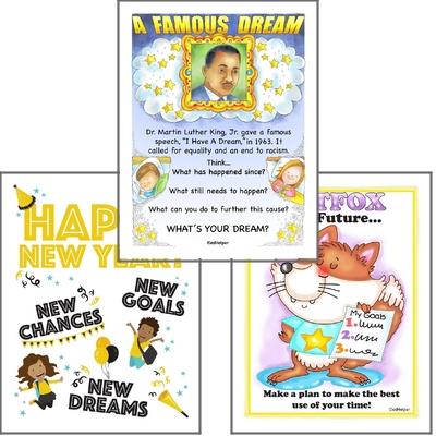 January Poster Packs