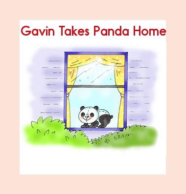Pandas Class Stuffed Animal Book Gavin Takes Panda Home