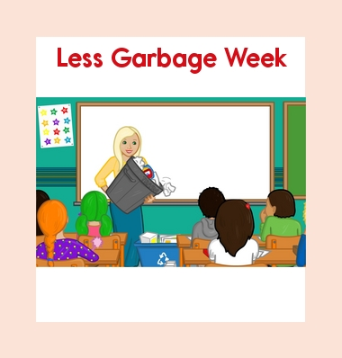 Earth Day - Leveled Book: Less Garbage Week