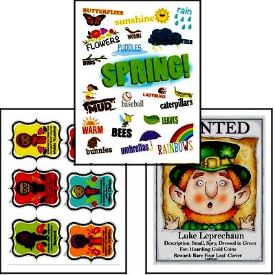 Get your bulletin boards ready with these March posters and ideas to decorate your classroom.