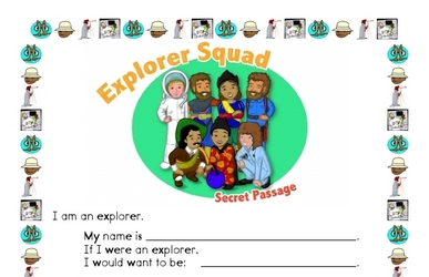 Math Mystery Explorer Squad Printable Book