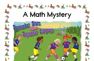 Math Mystery Soccer Stars Printable Book