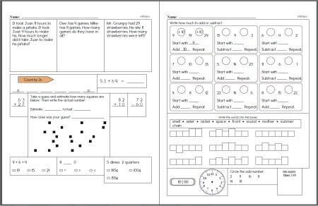 Sixth Grade Math Worksheets  EdhelperCom