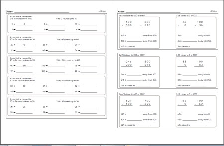 Free Third Grade Math Worksheets | edHelper.com
