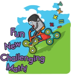 Gifted Kids Math Challenge Workbooks