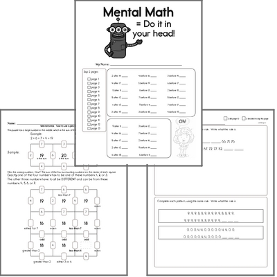 Free Math Worksheets and Workbooks | edHelper.com