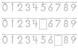 image relating to Printable Number Line titled Totally free Printable Math Amount Traces Worksheets