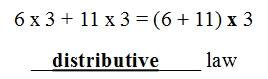 Distributive Property, Associative Property, and Commutative Property Worksheets
