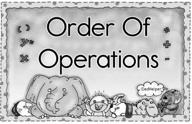 Free order of operations worksheets edhelper ibookread ePUb