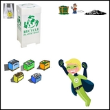 Be a Recycling Superhero - Read and Write Book