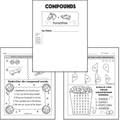 Introduction to Compound Words Workbook