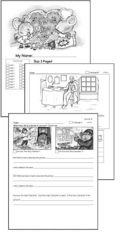 Kindergarten Workbooks for February